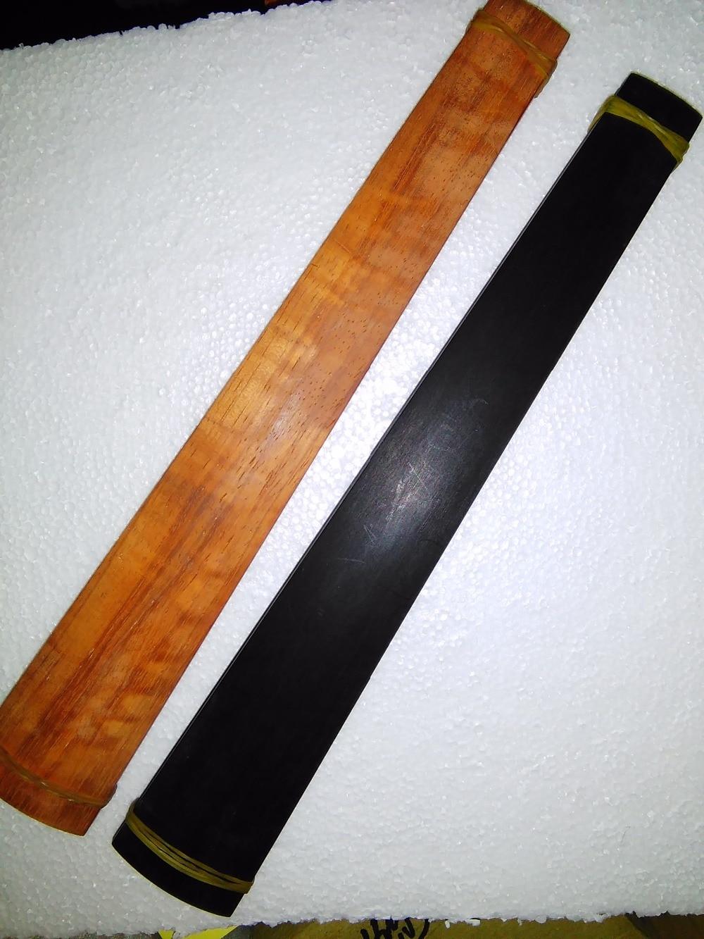 2 PCs Quality Violin Fingerboard 4/4 including 1 PC ebony fingerboard & 1 PC rose wood fingerboard enlarge