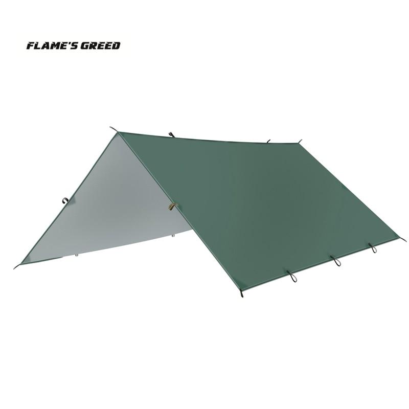 خيمة الشاطئ من FLAME'S CREED ul ، خيمة الشاطئ المظلة المظلة العريشة الشمس المأوى التمويه صافي ، خفيفة للغاية toldo 5 * 3m 4 * 3m 3*3m 3*3m