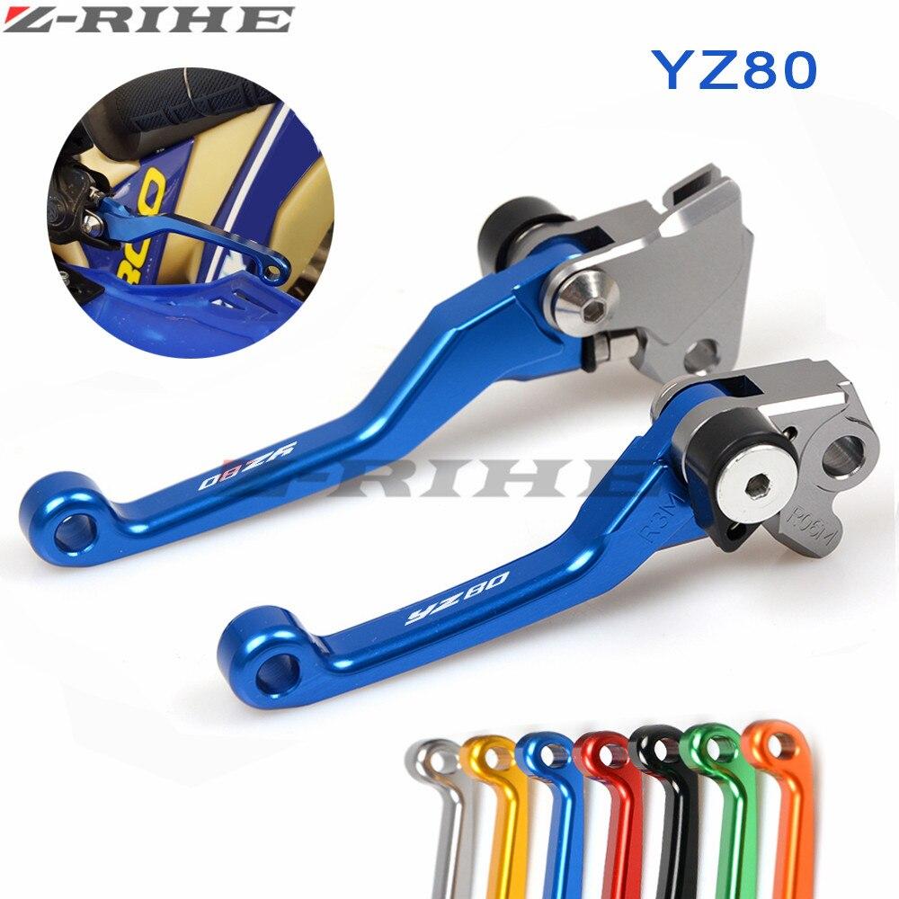 Motocross Pit Dirt Bike Brake Clutch Lever Handle For yamaha YZ80 YZ85 YZ 80 YZ 85 2001-2016 2009 2010 2011 2012 2013 2014 2015