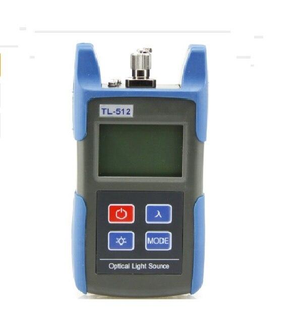 TL512 850/1300nm Multimodo MM Handheld Optical Fonte de Luz de Fibra Óptica