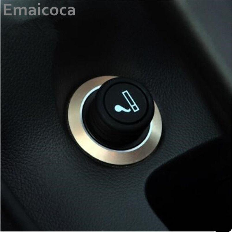 Emaicoca cigarrillo encendedor del coche de pegatinas para Cruze TRAX Malibu/Buick Regal Encore/Opel MOKKA Zafira Astra Insignia