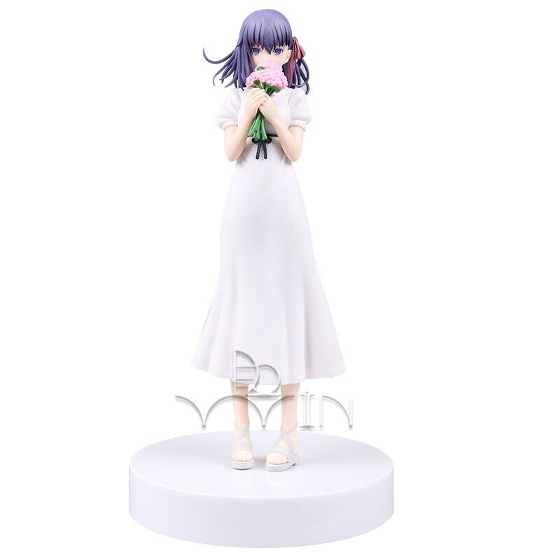 Vestido de novia Fate stay night Matou Sakura figura de acción figurita T30