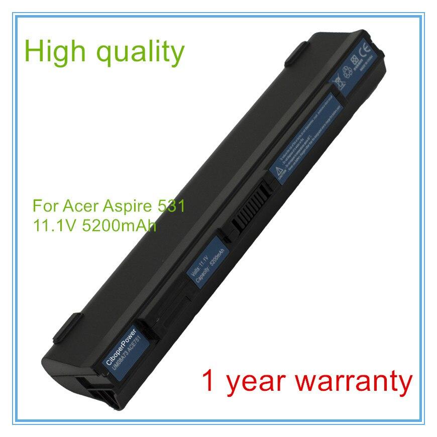 6 celular nuevo batería de repuesto para portátil 531 AO531 AO531H serie...