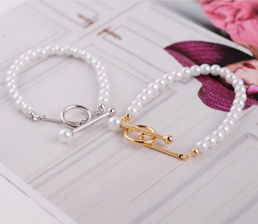 Pulseras de Mujer de oro blanco perla 2020 pulsera Boheme Boho mujeres Femme Bracciale Donna Bracciale Bransoletka Pulseras de Mujer