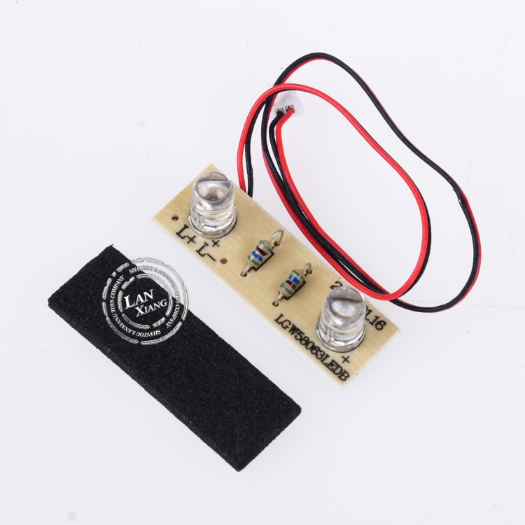 12428 12428-0131 Front Car Light WLtoys RC Racing Car Scale Spare Parts Accessories
