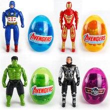 Marvel chaude les Avengers jouets fer homme Thor Hulk capitaine amérique déformation oeuf jouets pour enfants cadeau