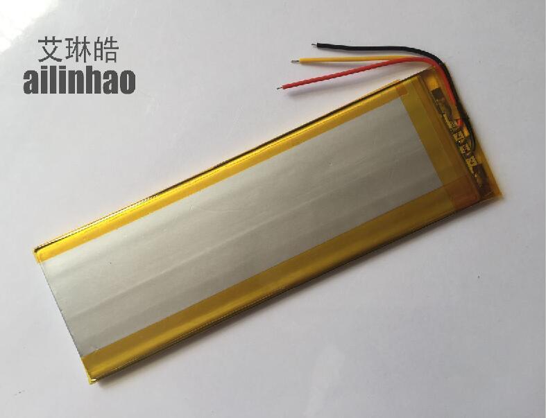ailinhao new Universal Battery for tablet texet tm-7045 Tablet Battery inner 3000mah 3.7V Polymer li-ion+Tracking