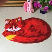 Creative Machine Wash Doormat Rug 3D Pet Design Carpet Anti Slip Doormat Rug Floor Mat Runner Kid Room bedside Carpet