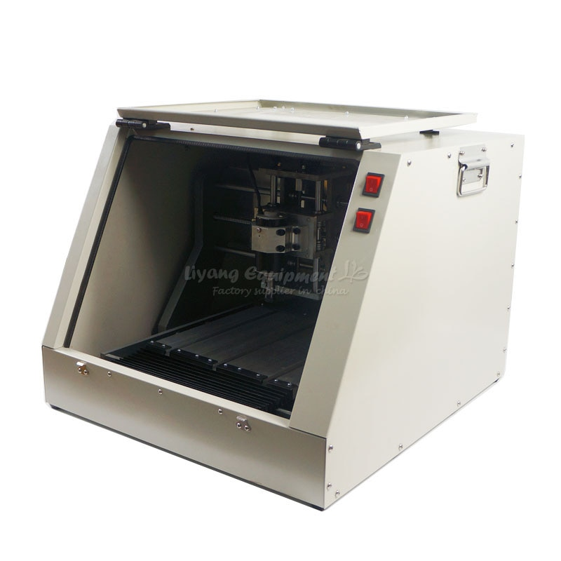 3 eksen 4 cnc eksenli freze makinesi LY CT 3020 tam mühürlü vidalı cnc router