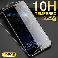 Закаленное стекло для Huawei P10 P20 P30 Mate 20 Plus Lite, 2 шт., Защита экрана для Hawei Mate 10 20 P20 PRO, защитное стекло
