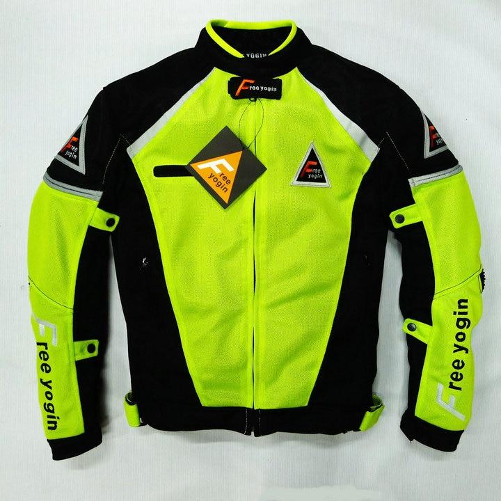 Nuevo modelo FREE-YOGIN a prueba de viento cálido chamarras ropa de Moto/de servicio de la motocicleta chaqueta/chaqueta de ropa