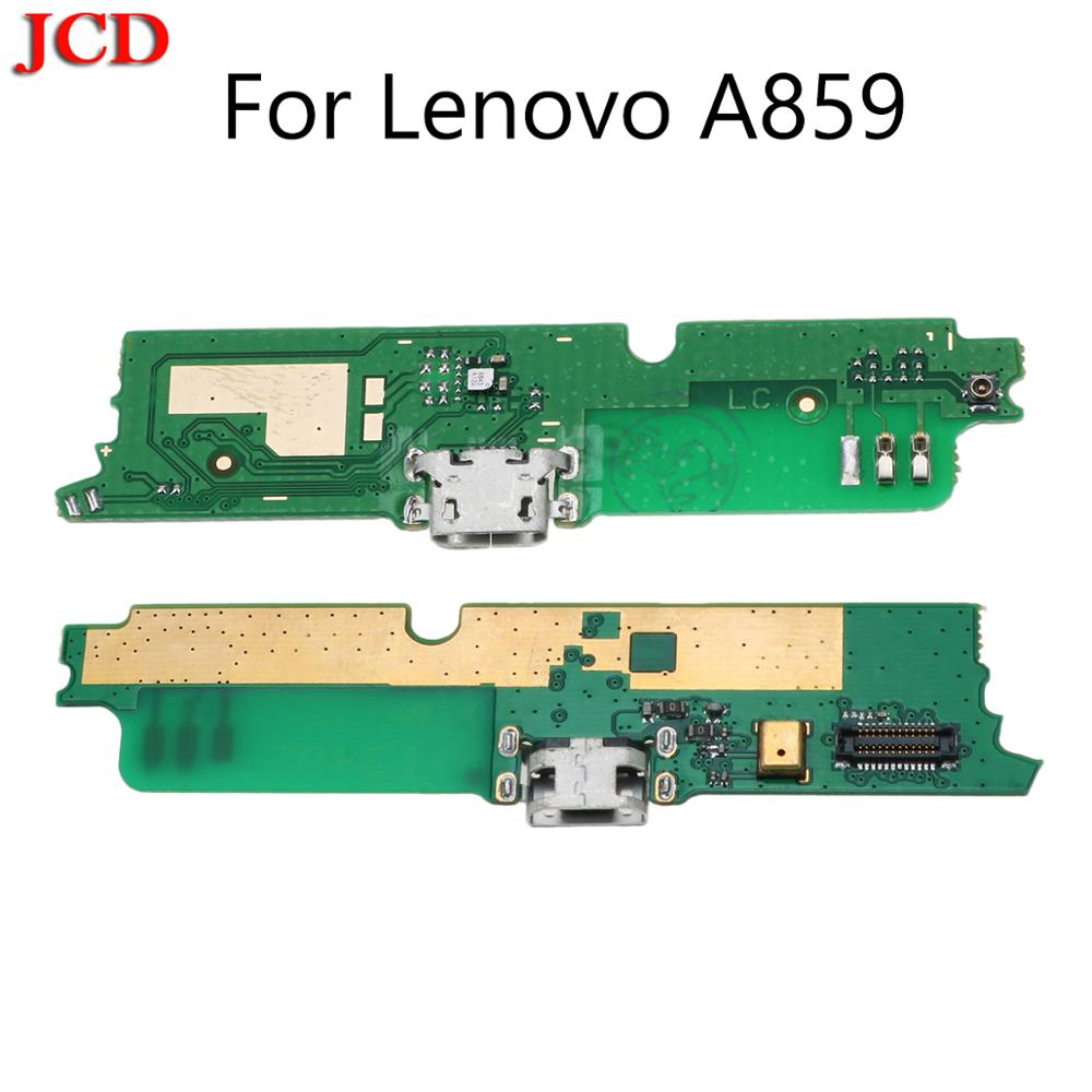 JCD New USB Charge Board with Flex cable & Microphone for Lenovo A859 Mobile phone-in Phone Cables from