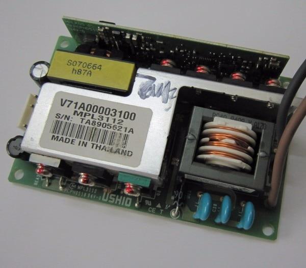 Balasto de proyector Original barato/potencia de la lámpara para Proyectores Toshiba TLP X100/TLP X200