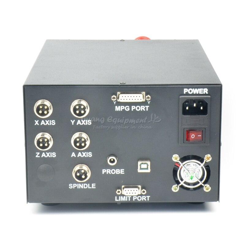 CNC engraving machine control box MACH3 USB interface NCB02 with digital handwheel controller enlarge
