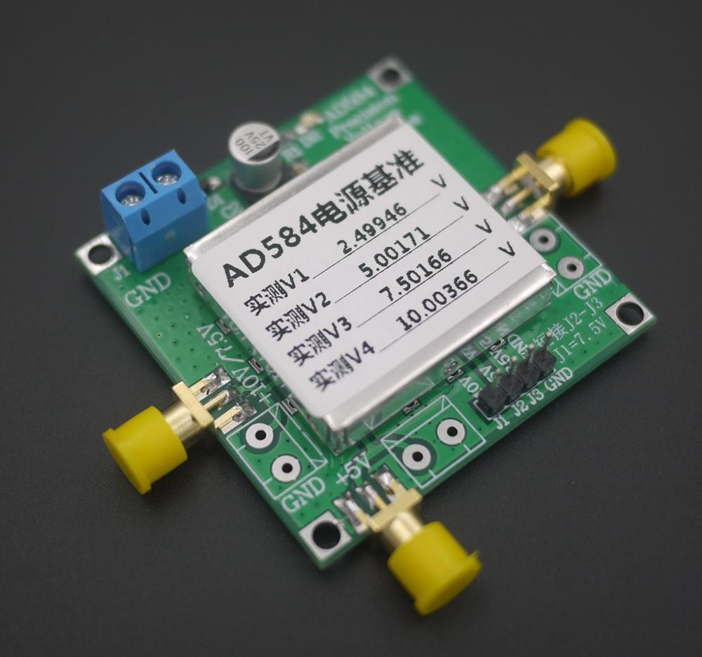 DYKB TL431 AD584 LM399 контрольный источник напряжения 2,5 В/5 В/7,5 В/10 в высокая точность для калибровки вольтметра, ADC Reference, DAC