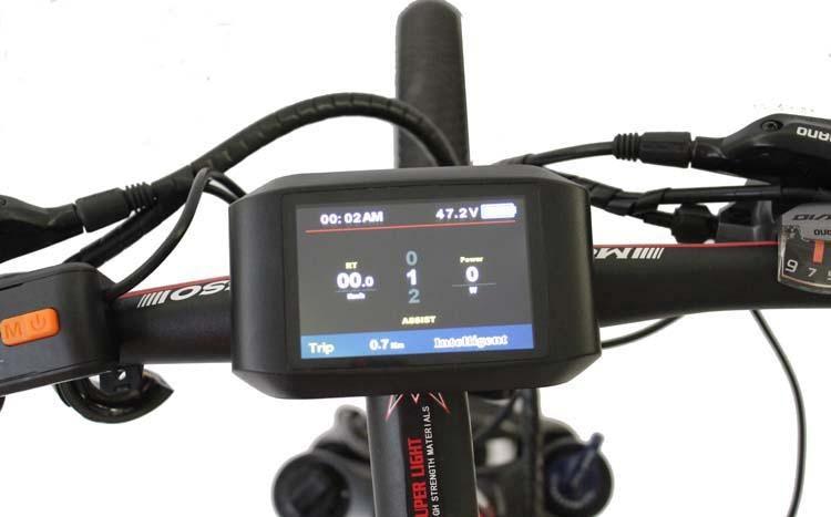 Электромотор ConhisMotor Ebike, 24/36/48 в, ЖК TFT 750C цветной дисплей, доступный Электрический велосипед BAFANG, мотор среднего привода BBS01 BBS02 BBS03 BBSHD