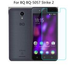 الزجاج المقسى ل BQ BQ-5057 سترايك 2 واقي للشاشة 9 H 2.5D الهاتف طبقة رقيقة واقية ل BQ BQ-5057 سترايك 2 الزجاج المقسى
