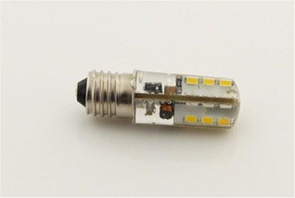 5 uds DC2.7 ~ 6V E10 led 3v 4v 4,5 V 5v 6V E10 bombilla LED de silicona DC3V DC4V DC4.5V DC5V DC6V 1W