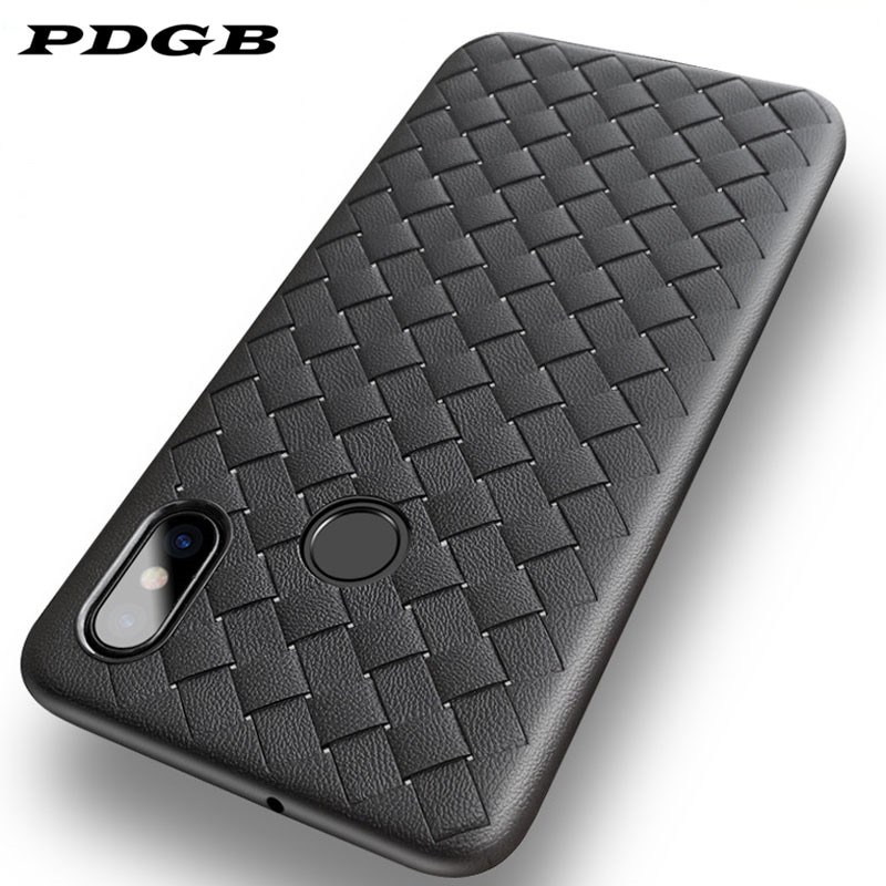 PDGB TPU caso para Xiaomi mi 8 9 SE A2 Lite jugar rojo mi ir 6A Nota 7 6 Pro mundial de la moda patrón cubierta trenzada Soft Shell