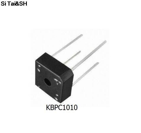 5PCS/lot KBPC1010  10A 1000V diode bridge rectifier kbpc1010