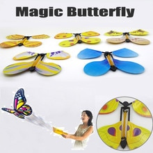 Magie tricks Fliegen Schmetterling Magie Verwandeln Kokon In EINEM Fliegenden Schmetterling Trick Prop Spielzeug twisty pet