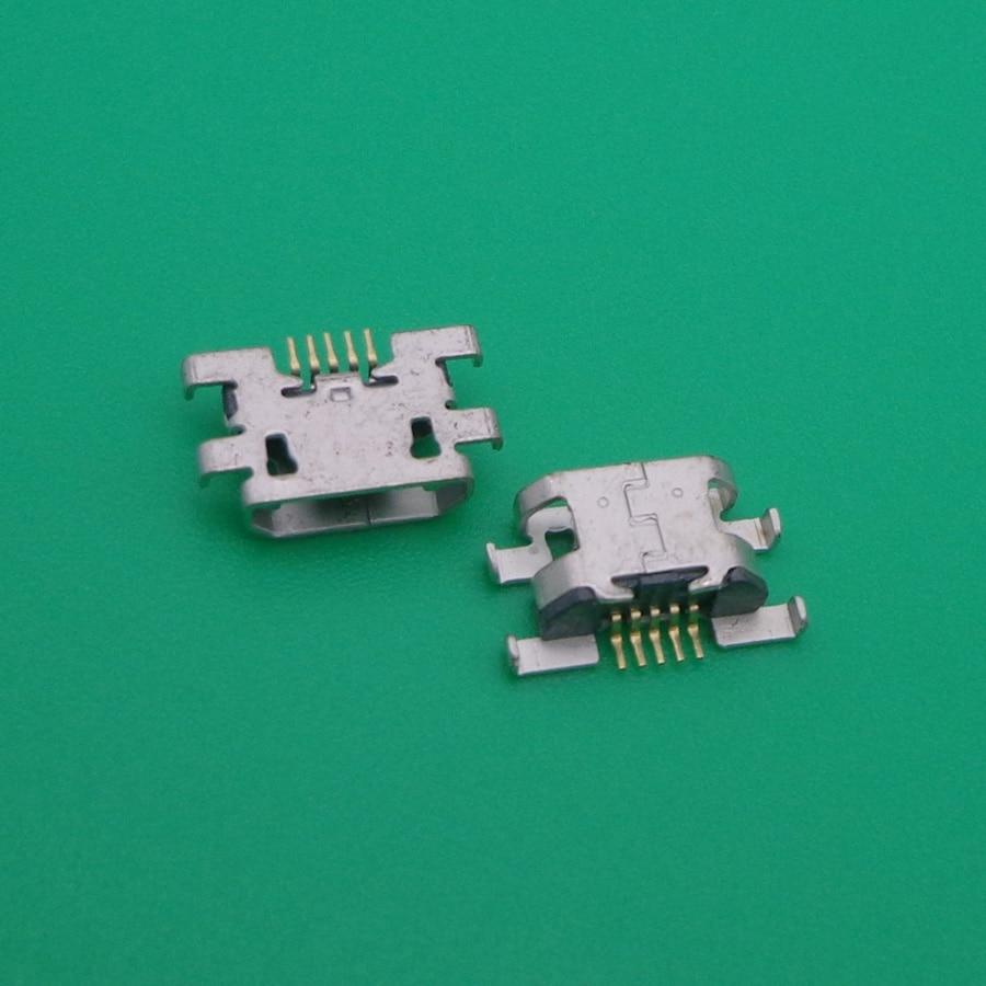 5-20pcs Mini micro USB jack charging connector dock port socket power plug Replacement Repair Part For lenovo Vibe C2 k10A40 K10
