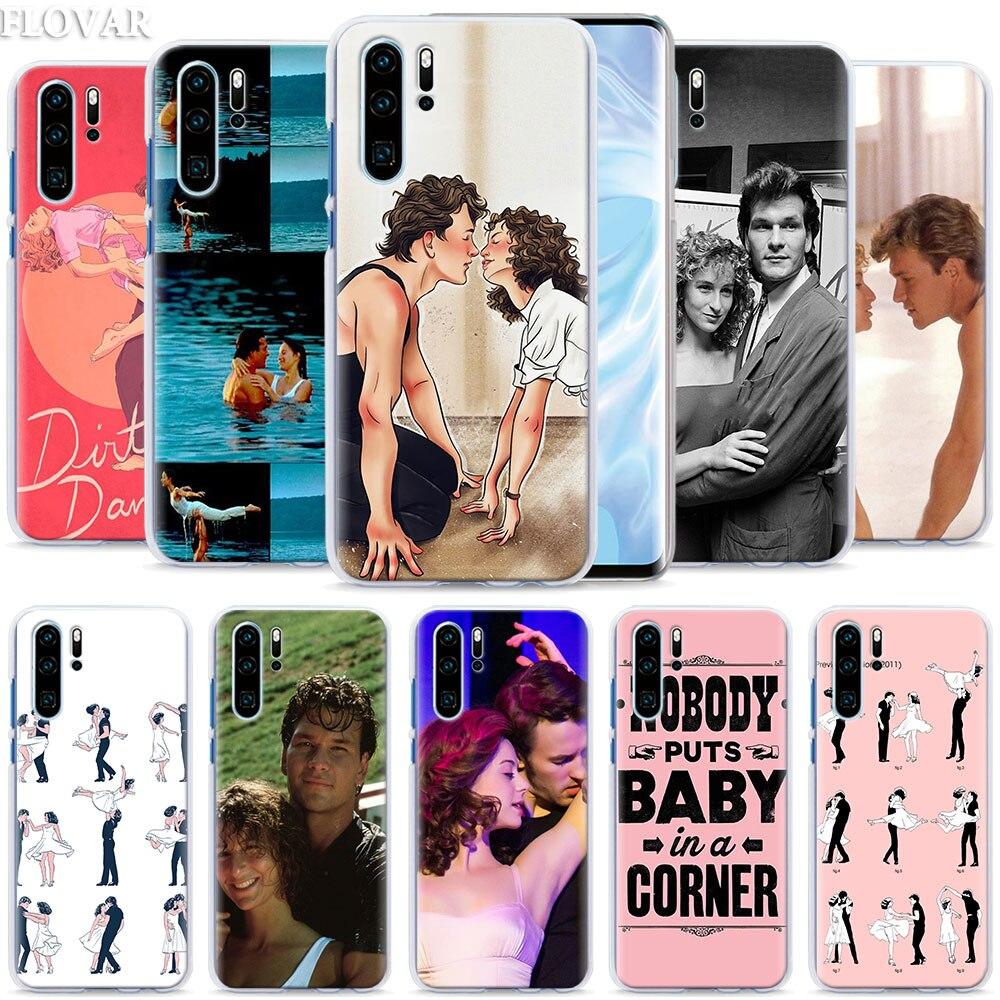 Baile sucio película teléfono caso coque para Huawei P20 P30 P40 Pro + P10 P20 P30 Lite P Smart Plus caso