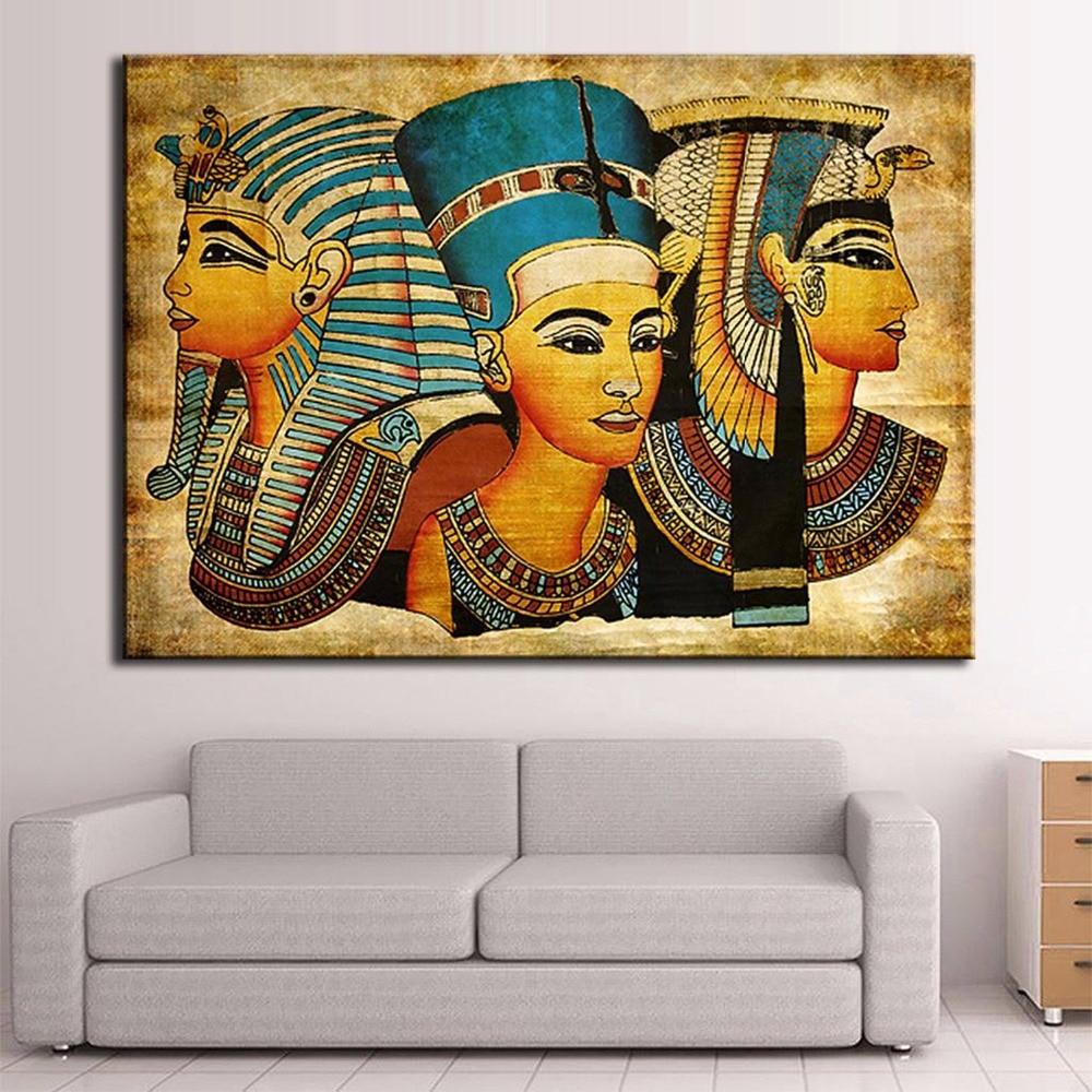 1 панель мода HD Большой Холст Картина египетские домашний декор дешевые современные на холсте искусство холст картины