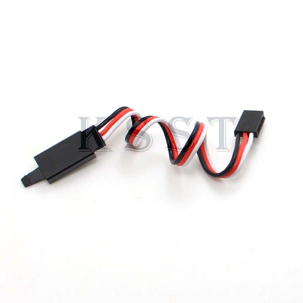 10 Uds 22 # 22AWG 60core Futaba JR Cable de extensión plana Cable de extensión con gancho longitud diferente envío gratis