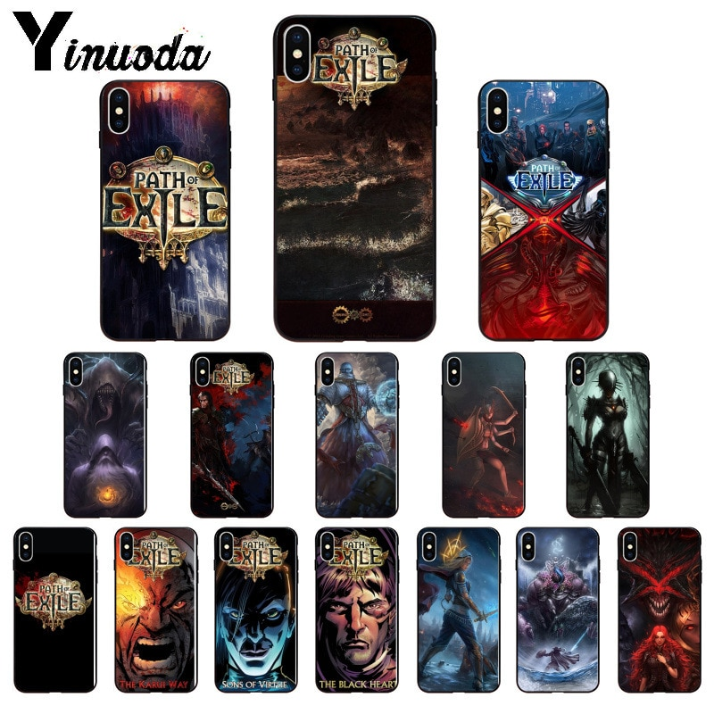 Yinuoda Path of Exile Мягкий силиконовый чехол для телефона из ТПУ для iPhone X XS MAX 6 6s 7 7plus 8 8Plus 5 5S SE XR