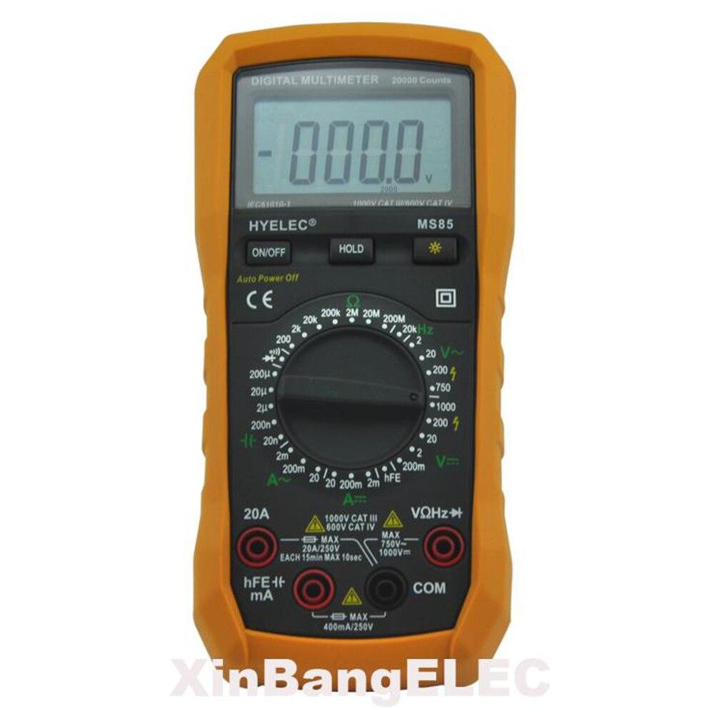 Digital Multimeter AC/DC Resistance Capacitance Frequency Tester
