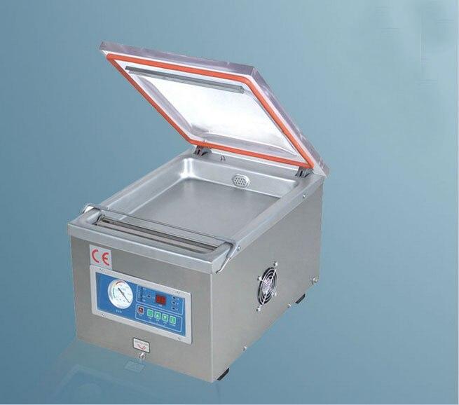 1 equipo electrónico sellador al vacío bolsas de aluminio maquinaria de sellado retráctil DZ-260 paquete de plástico comida, documento, médico