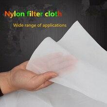 Filet filtrant industriel en Nylon   Tissu filtrant en gaze, eau de grain de soja, peinture décran café, vin, tissu filtrant