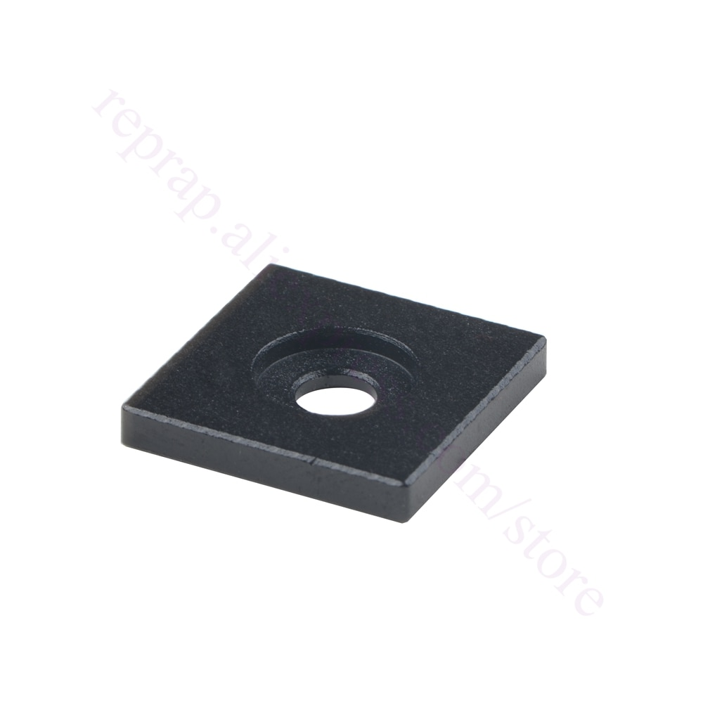 10 шт 3D принтер Openbuilds черная анодированная алюминиевая Торцевая Крышка для 2020 2040 2060 2080 20100 алюминиевый профиль экструзии