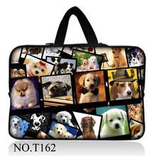 Honden Stijl 10 11.6 13.3 14.4 14 15 15.6 17.3 Laptoptas tablet sleeve Case Voor Macbook Air/Pro/Retina/Dell/Hp/Computer cover