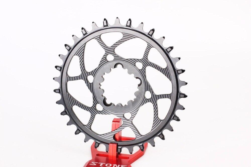 Cadena de bicicleta estrecha ancha 30 32 34 36 38T 3mm offset para GXP xx1 Eagle GX X01 X0 X9 1x Sistema de piezas de bicicleta