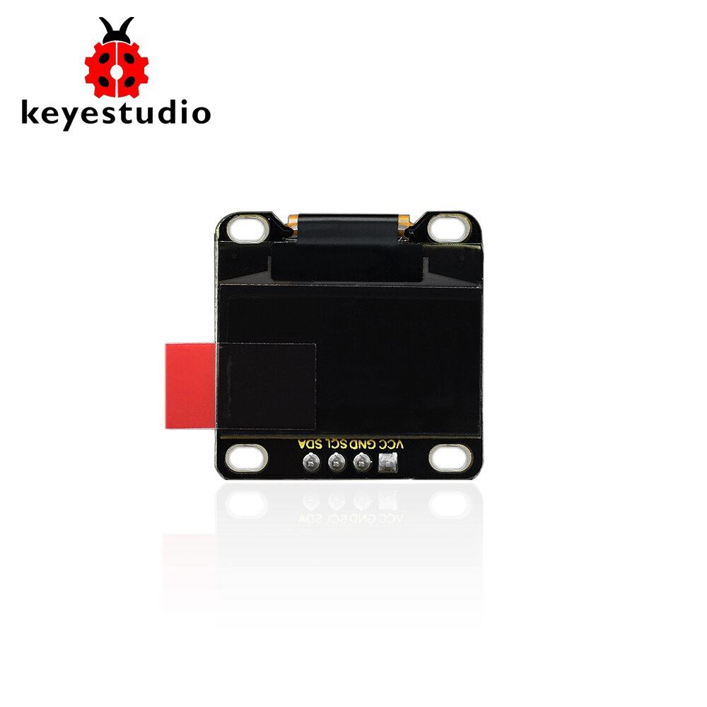 Módulo OLED de 0,96 Keyestudio/módulo de pantalla LCD L ED azul 128X64/serie IIC para Arduino uno r3