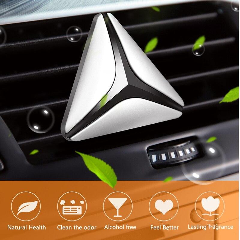 Neue Luxus Dreieck Gesunde Harmlos Auto Lufterfrischer Duftenden Holz Auto Parfüm Klimaanlage Clip Auto Inndoor Lufterfrischer