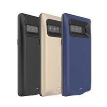 Портативное зарядное устройство 5500 мАч, чехол для Samsung Galaxy Note 8, Внешнее зарядное устройство, чехол для телефона