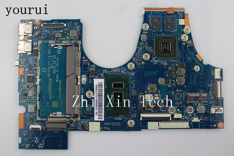 Yourui لينوفو اليوغا 710-14ISK 710-15ISK 710-14ISB محمول Mortherboard مع i5-7200 CPU BIUY2 Y3 LA-D471P 100% اختبار بالكامل