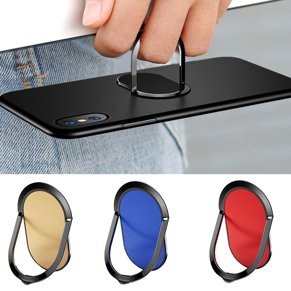 360 graus ultra fino universal metal dedo anel suporte do telefone suporte transporte da gota