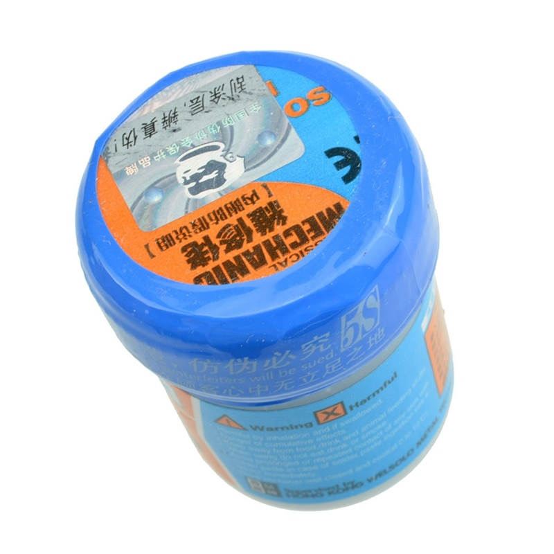 Mecánico reparar pasta soldadora para soldaduras XG-50 (XG-500) 42g Sn63/Pb37 25-45um