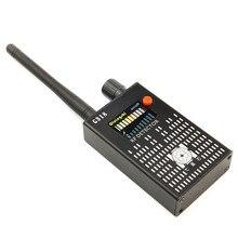 Détecteur de Signal Anti-espion téléphone   Détecteur de signaux pour téléphone portable sans fil à portée complète noir 1-8000mhz WiFi RF GSM (certificat CE ROHS FCC)