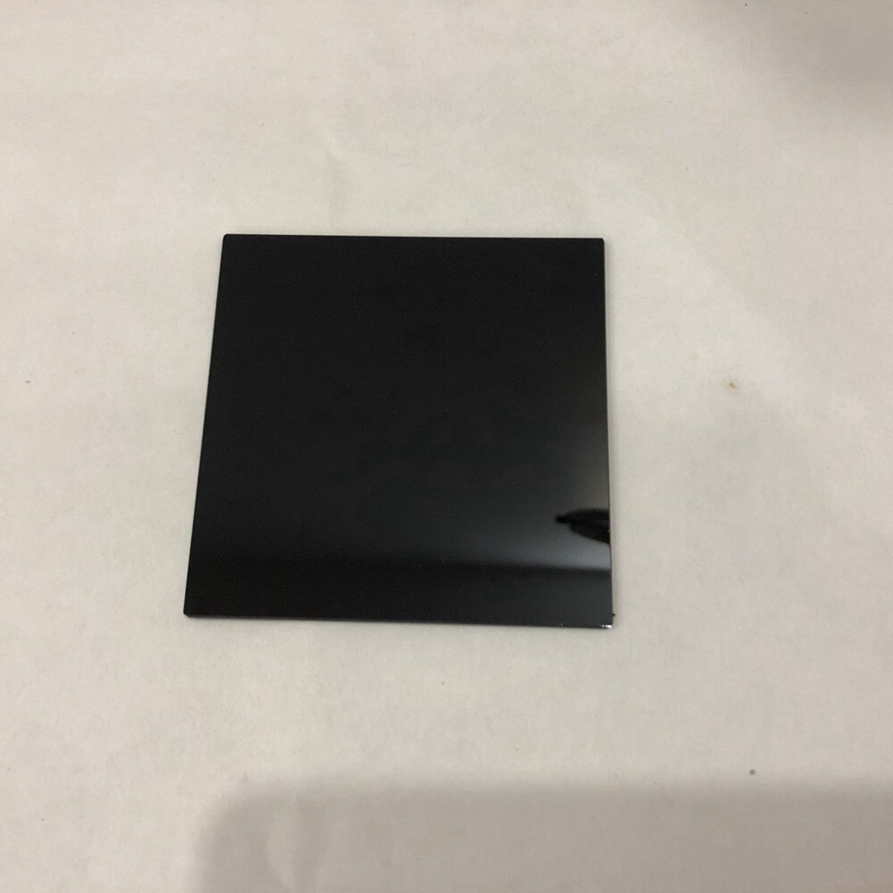 5 uds total HWB850 tamaño 25x25x2mm square850nm filtro óptico IR bandpass vidrio
