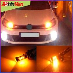 Hight Power LED luzes Do Carro 5202 PSY24W ShinMan PS19W PWY24W H16 LEVOU Transformar a luz do sinal LEVOU Acessórios Do Carro Luz de Nevoeiro luz canbus