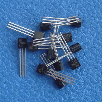 (1000 unids/lote) 2N3904 NPN de propósito General Transistor 3904