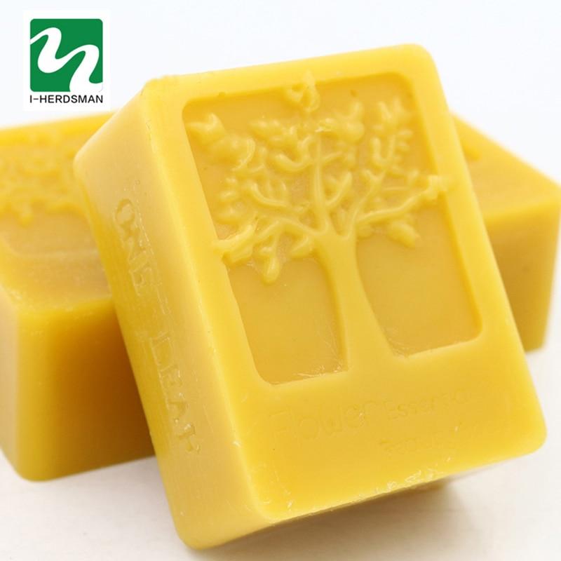 105G 100% Organic Natural Pure Beeswax Honey Wax Bee Cosmetic maintenance protect Wood furniture Wax Waxing Polishing