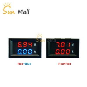 1PC 0.28 inch DC0-100V 10A LED DC Double Display Digital Current Voltmeter Meter(Low Voltage Models)