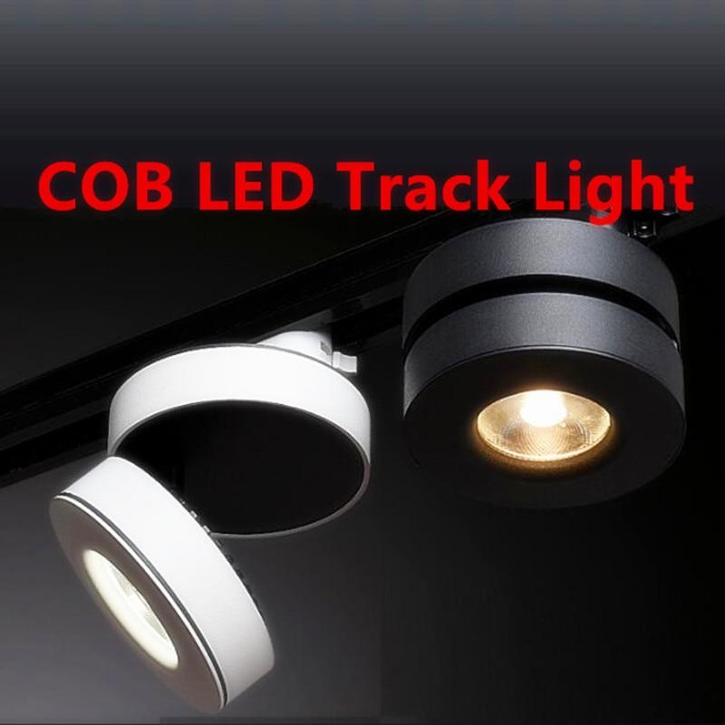 YRANK, nuevo, AC85-265V de rotación de 355 grados, 15 W, LED Ultra delgado, alta calidad, foco de seguimiento, iluminación de riel