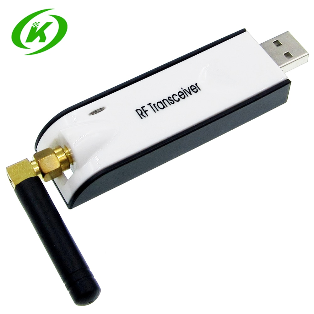 433 Mhz CC1101 USB sans fil RF Module émetteur-récepteur 10 mW USB UART MAX232 RS232 faible puissance Transmission de données transparente